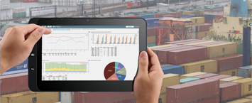 New Solvo.KPI dashboard for CTSP container terminal: full control and transparency