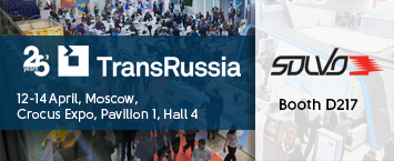 Solvo to exhibit at TransRussia 2021 in Moscow