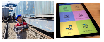 Automated addressed railcar allocation and other Solvo.TOS updates for efficient railway cargo terminal management